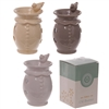 Ceramic Drinking Bird Wax Melter / Oil Burner - 3 Assorted