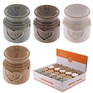 Ceramic Love Oil Burner