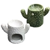 Cactus Wax Melter / Oil Burner 2 Assorted