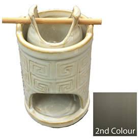 Ceramic Tower Hanging Oil Burner 2 Assorted