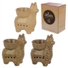 Llama Ceramic Oil Burner 3 Assorted 13cm