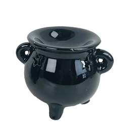 Black Ceramic Oil Burner SOLD IN 20's