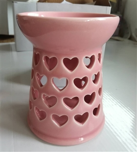 Blush Pink Hearts Oil Burner