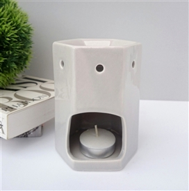 Hexagonal Ceramic Wax Melter