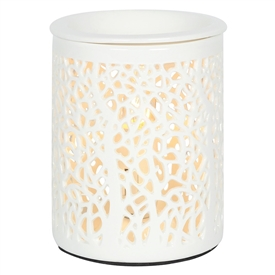 Tall Chunky Electric Oil Burner � Tree Silhouette 13cm