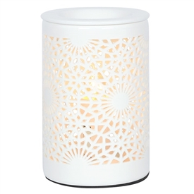 Tall Chunky Electric Oil Burner � Lace 15cm
