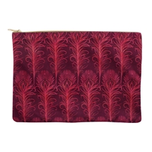 REDUCED Peacock Feather Make Up Bag