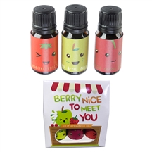Set Of 3 Eden Fragrances Oils Fruity Scents