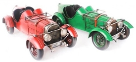Vintage Racing Car 2 Assorted 33cm