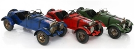 Vintage Car Ornament 31cm 3 Assorted