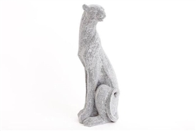 Silver Glitter Panther 42cm