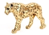 Gold Polyresin Leopard Ornament
