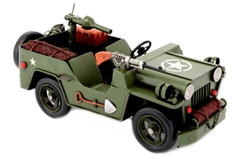 Army Truck Tin Vehicle Model 30cm