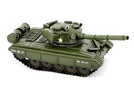 Army Tank Tin Vehicle Model 34cm