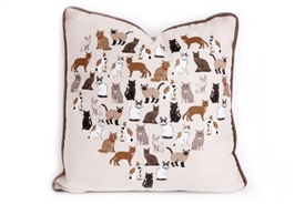 Cat Square Cushion 45cm