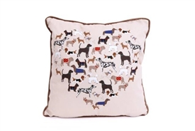 Dog Square Cushion 45cm