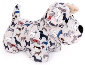 Plush Dog Doorstop 25cm