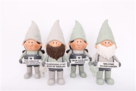 Potting Shed Gnome 4 Assorted 25cm