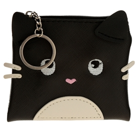 Feline Fine Cat Coin Purse 10cm