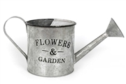 Zinc Watering Can Planter