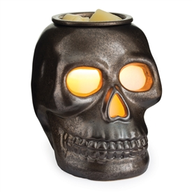 DUE NOVEMBER Large Ceramic Skull Electric Wax Melter