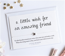 Little Wishes Bracelet - Amazing Friend