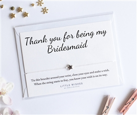 Little Wishes Bracelet - Bridesmaid