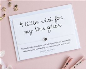 Little Wishes Bracelet - Daughter