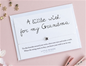 Little Wishes Bracelet - Grandma