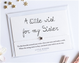Little Wishes Bracelet - Sister