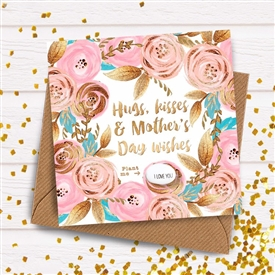 Card With Magic Growing Bean � Mothers Day