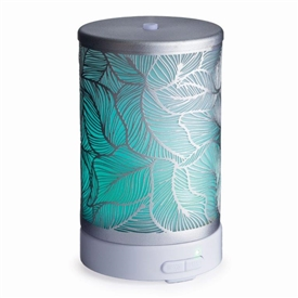 Colour Changing Aroma Humidifier - Silver Leaf