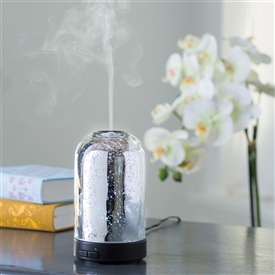 Colour Changing Aroma Humidifier - Mercury Glass