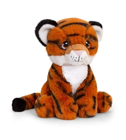 Plush Teddy Made From 100% Recycled Plastic � Tiger