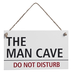Man Cave Hanging Plaque 4 Assorted designs to choose from 19cm x 12cm