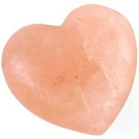 DUE AUGUST-Heart Shaped Salt Soap