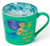 SPECIAL OFFER (Was £3.45) Green Mermaid Mug Giftboxed