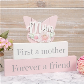 Mother And Friend Mantel Plaque 24cm