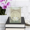 Gold Tree Of Life Glass Oil Burner