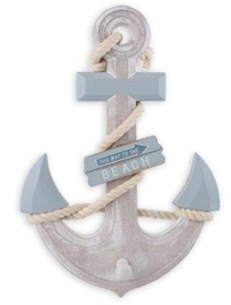 Wooden Anchor 33cm