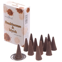 Frankincense And Myrrh Incense Cones