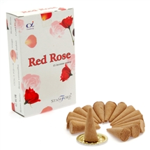 Stamford Red Rose Cones
