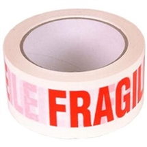 Fragile Tape Roll 66m