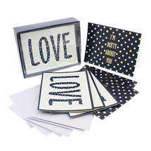 Love Dots Notecards