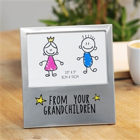 Aluminium Photo Frame � From Grandchildren