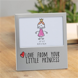 Aluminium Photo Frame � From Little Princess