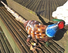 PREORDER NOW Phil the Metal Pheasant 62cm