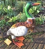 Derek the Metal Duck 40cm