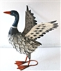 Donald the Winged Metal Duck 48cm