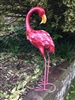 Freya the Metal Flamingo 57cm